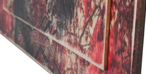 Wood Printing - Stampa Su Legno - Dettaglio